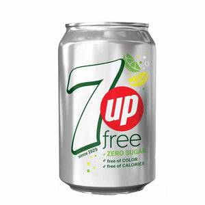 7up Sugar free can