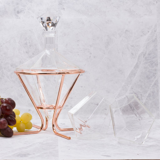 Diamond Decanter Set