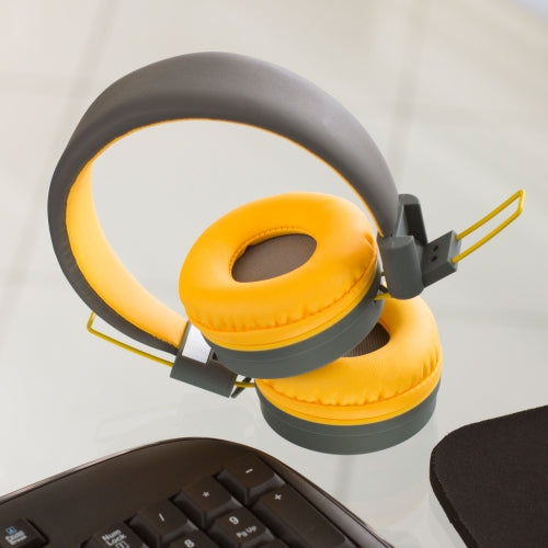 Pump - Yellow Bluetooth Headphones