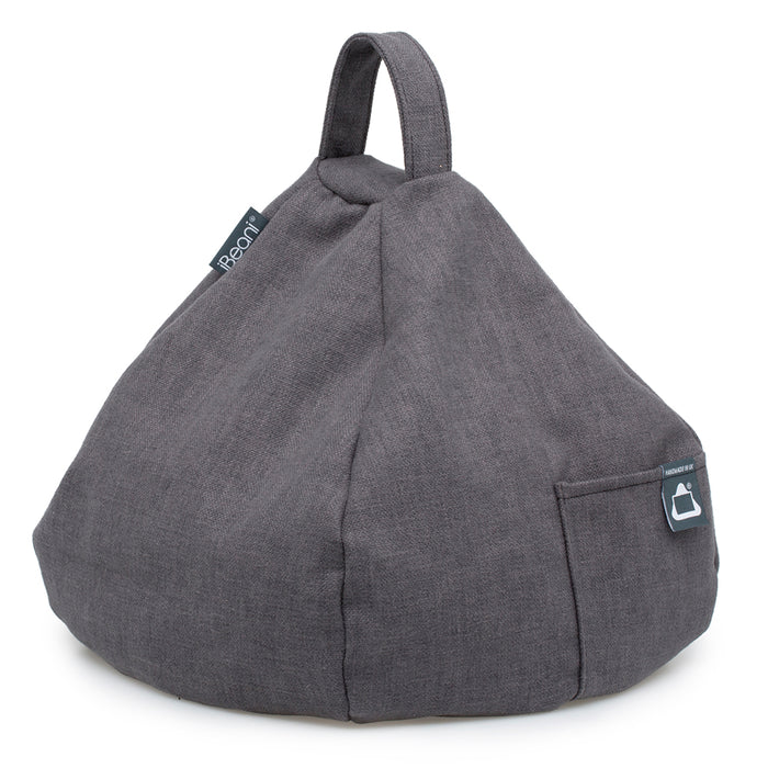 Smart Device Bean Bag Cushion - Slate Grey