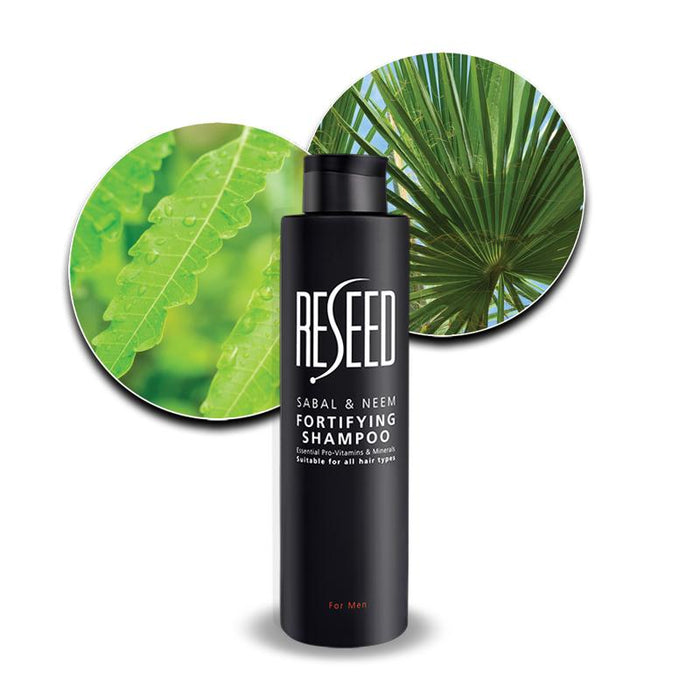 RESEED Sabal and Neem Fortifying Shampoo for Men - 250 ml