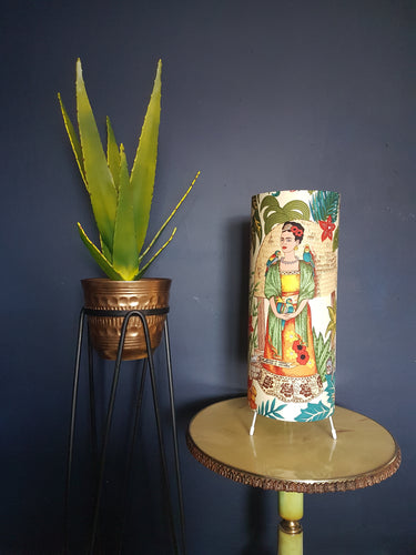 Frida Kahlo Tropical cream lamp