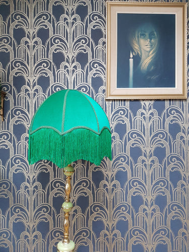 Emerald Deco Lampshade