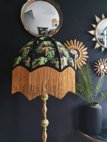 Tropical Deco lampshade