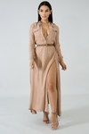 Command Attention Maxi Dress
