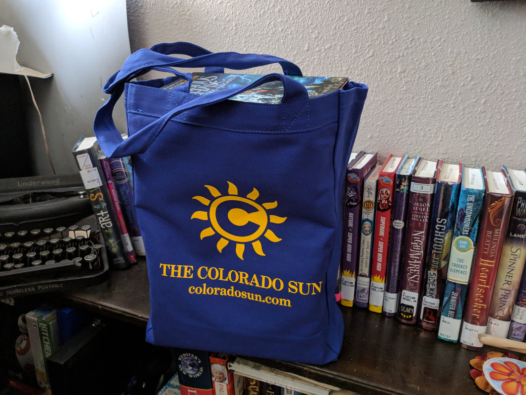 Colorado Sun tote bag
