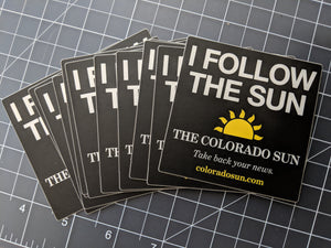 I Follow The Sun sticker pack