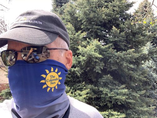 NEW Colorado Sun face mask