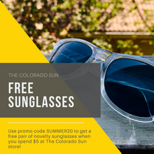 Load image into Gallery viewer, Colorado Sun Sunglasses