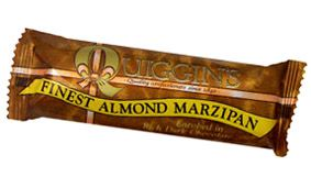 QUIGGINS CHOCOLATE COVERED MARZIPAN