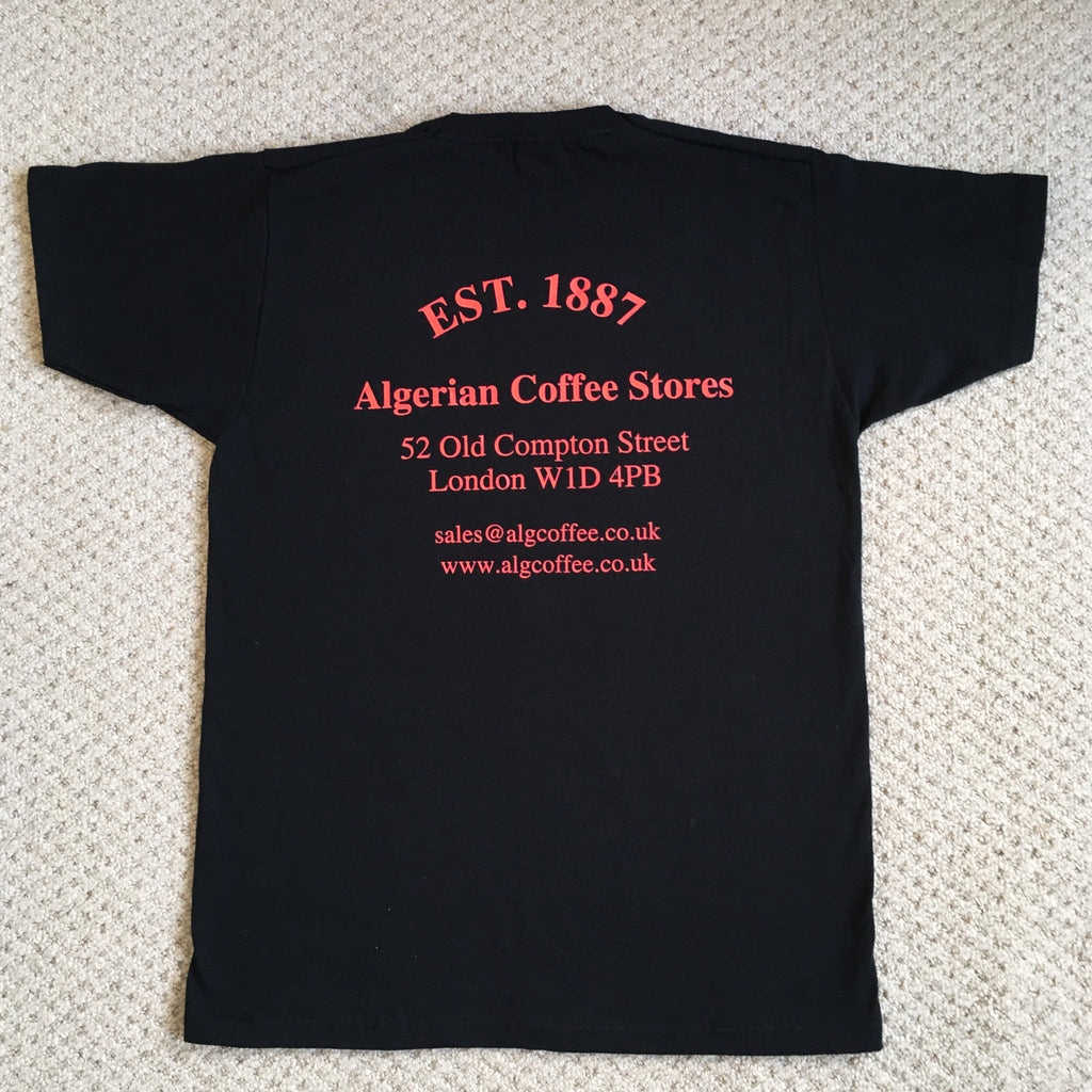 ALGERIAN COFFEE STORES T-SHIRT