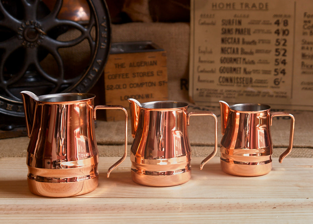 ILSA EVOLUTION COPPER BARISTA JUG