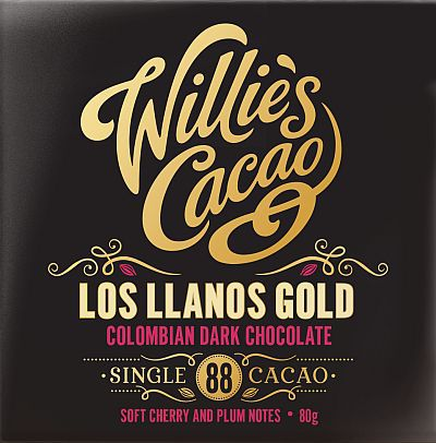 WILLIE'S CACAO - COLOMBIAN 88 - SAN AUGUSTIN GOLD