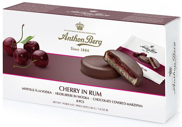 ANTHON BERG - CHERRY AND RUM MARZIPAN