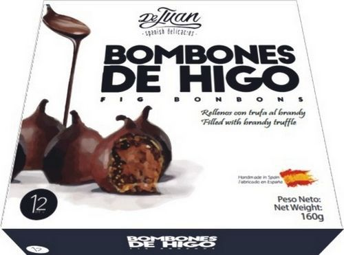 DE JUAN FIG BONBONS WITH BRANDY TRUFFLE