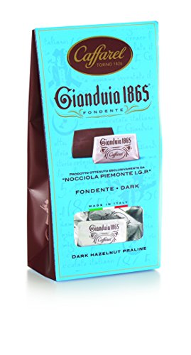 CAFFAREL GIANDUIA BALLOTIN DARK CHOCOLATE