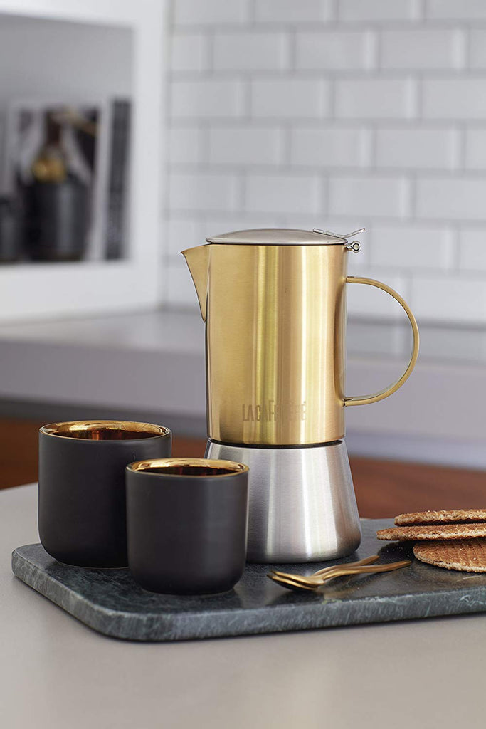 LA CAFETIERE DOUBLE WALLED CERAMIC CUPS
