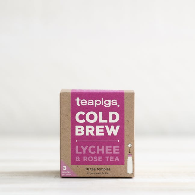 TEAPIGS COLD BREW - LYCHEE & ROSE