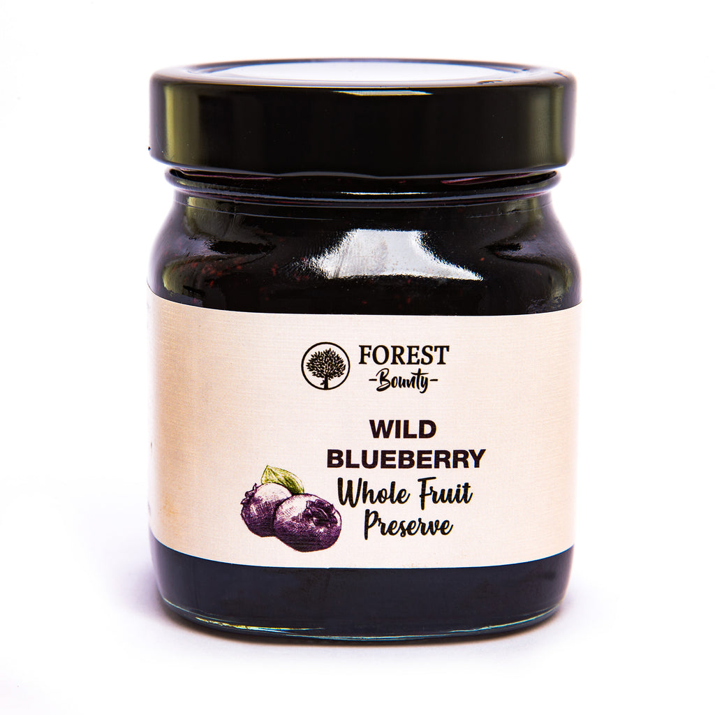 FOREST BOUNTY WILD BLUEBERRY WHOLE FRUIT PRESERVE