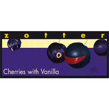 ZOTTER VANILLA CHERRIES