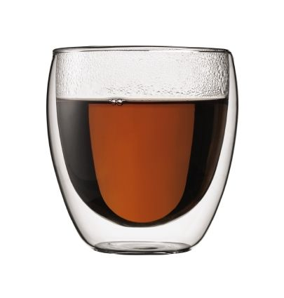 BODUM PAVINA DOUBLE WALLED CAPPUCCINO GLASS