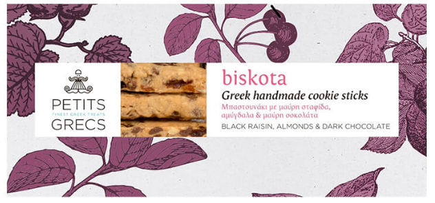 PETITS GRECS - HANDMADE BISKOTA COOKIE STICKS
