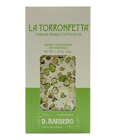 D.BARBERO CRUMBLY TORRONE WITH PISTACHIO