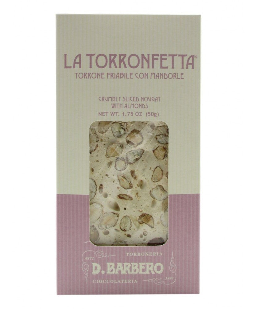 D.BARBERO CRUMBLY TORRONE WITH ALMOND
