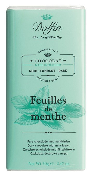 DOLFIN CHOCOLATE MINT LEAVES