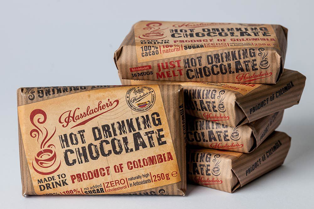 HASSLACHER 100% CACAO DRINKING BAR