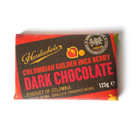 HASSLACHER'S COLOMBIAN DARK CHOCOLATE