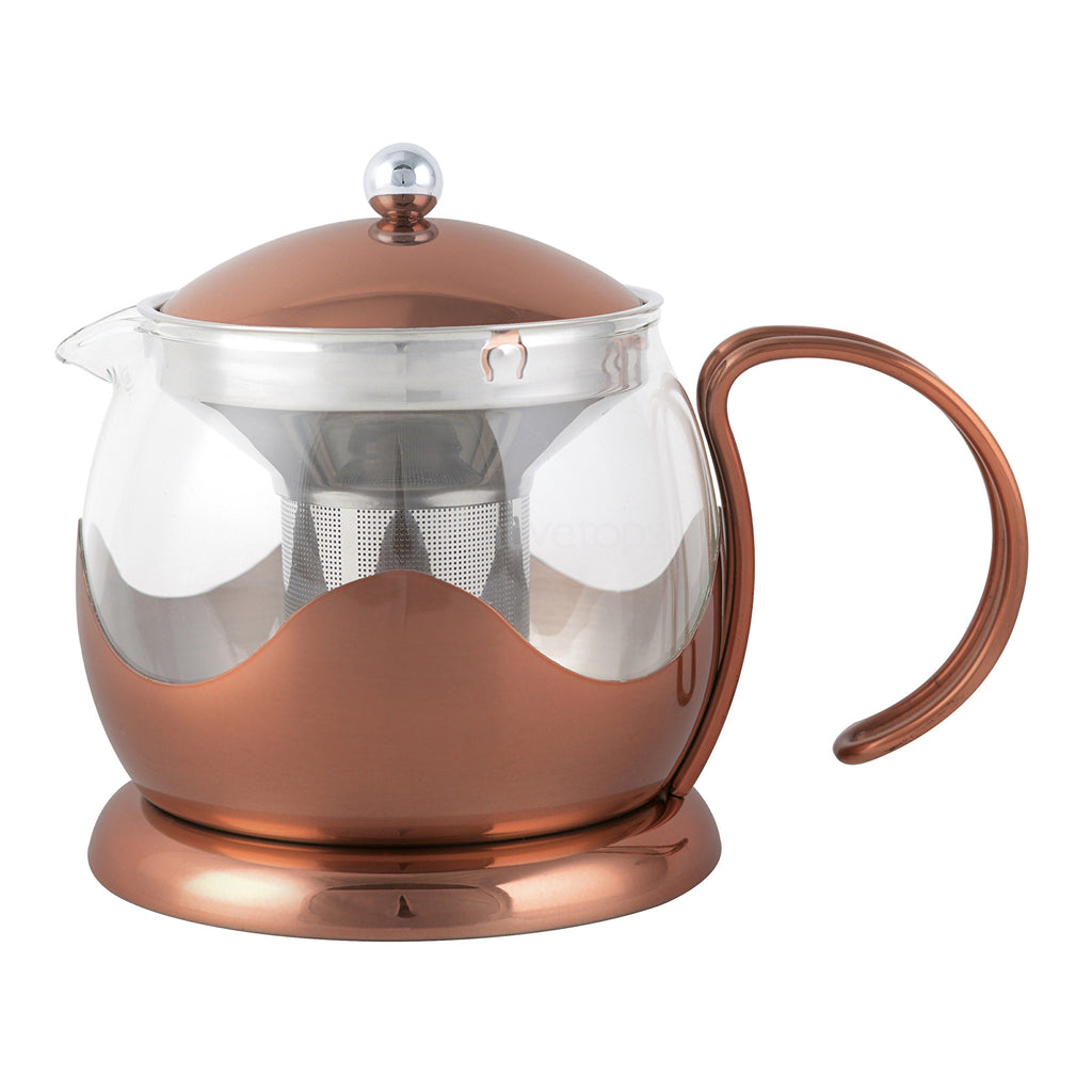 La Cafetiere Origins Le Teapot Copper