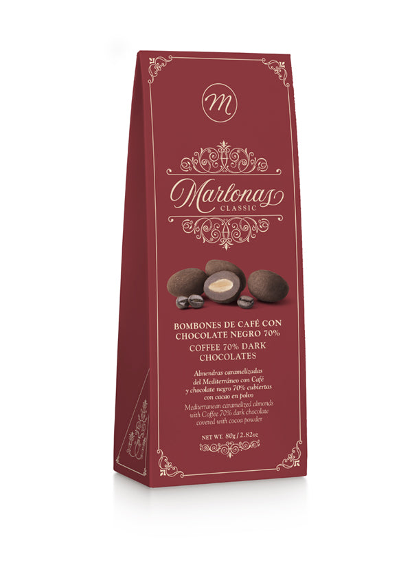 MARLONAS COFFEE DARK CHOCOLATES 70%