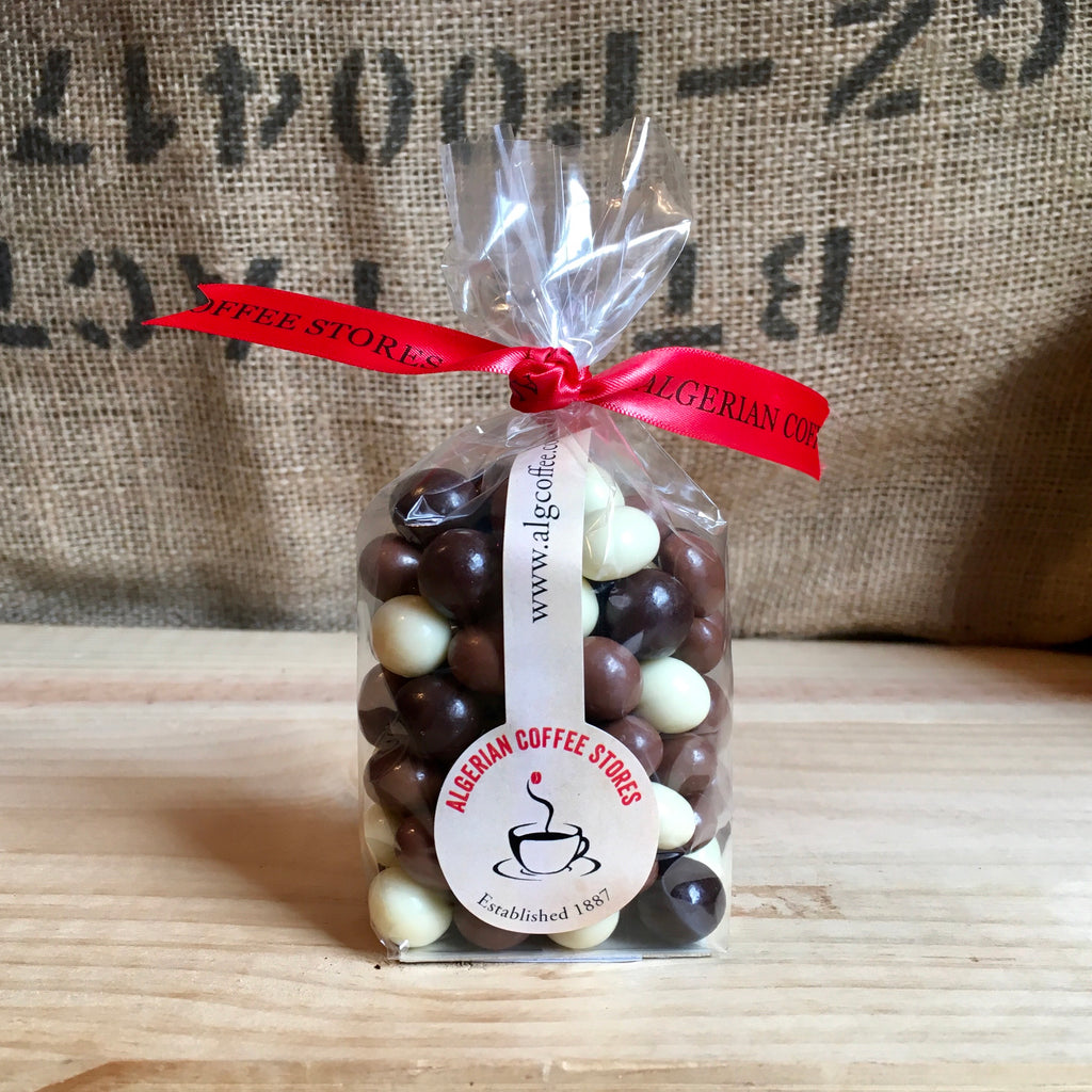 MIXED CHOCOLATE COVERED COFFEE BEANS