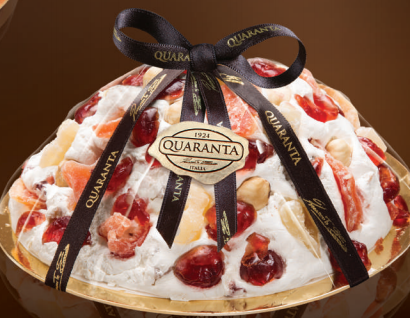 QUARANTA TROPICAL FRUIT NOUGAT CAKE