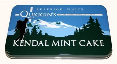 QUIGGINS KENDAL MINT CAKE IN TIN