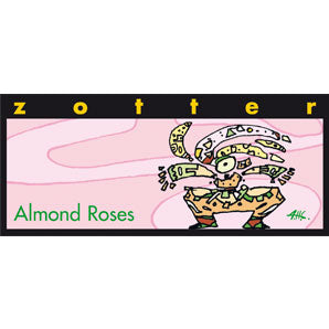 ZOTTER ALMOND ROSES