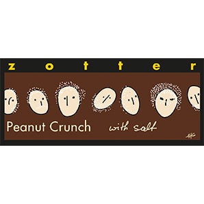 ZOTTER PEANUT CRUNCH WITH SALT