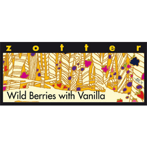 ZOTTER WILD BERRIES WITH VANILLA