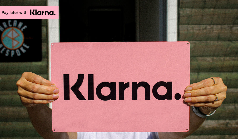 <center>INTRODUCING A TOTALLY NEW WAY TO PAY, WITH KLARNA