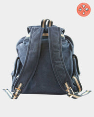 Quadra Vintage Canvas Backpacks | Multi-Garment Screen Printed