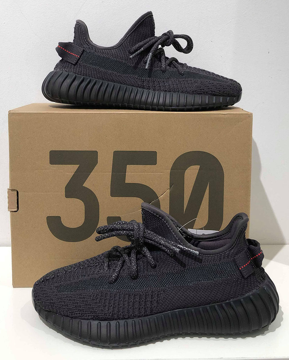 How to legit check v2 Black yeezy 350