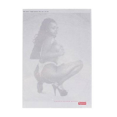 SUPREME DIGI GIRL STICKER