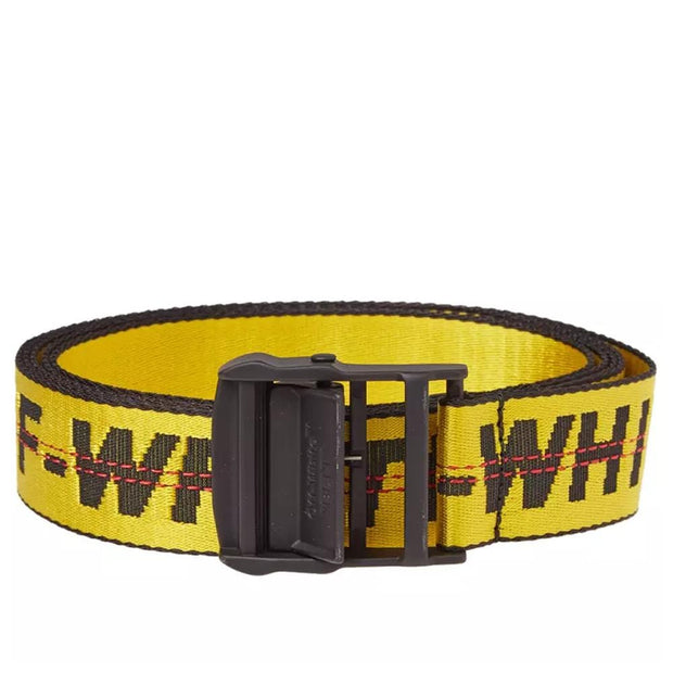 OFF WHITE 2M INDUSTRIAL BELT YELLOW (NEW)
