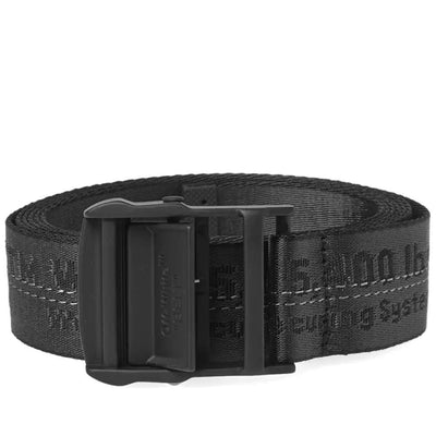 OFF WHITE INDUSTRIAL BELT BLACK (NEW)