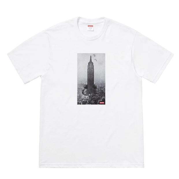 SUPREME X MIKE KELLEY FW18 EMPIRE STATE TEE WHITE MEDIUM (NEW)