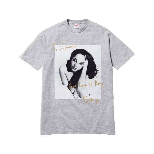 SUPREME SS17 SADE GREY TEE XLARGE (NEW)