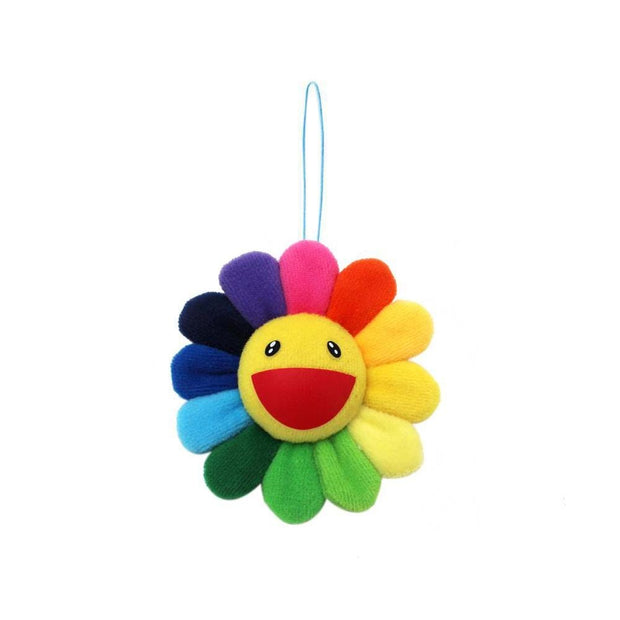 TAKASHI MURAKAMI RAINBOW FLOWER PIN (NEW)
