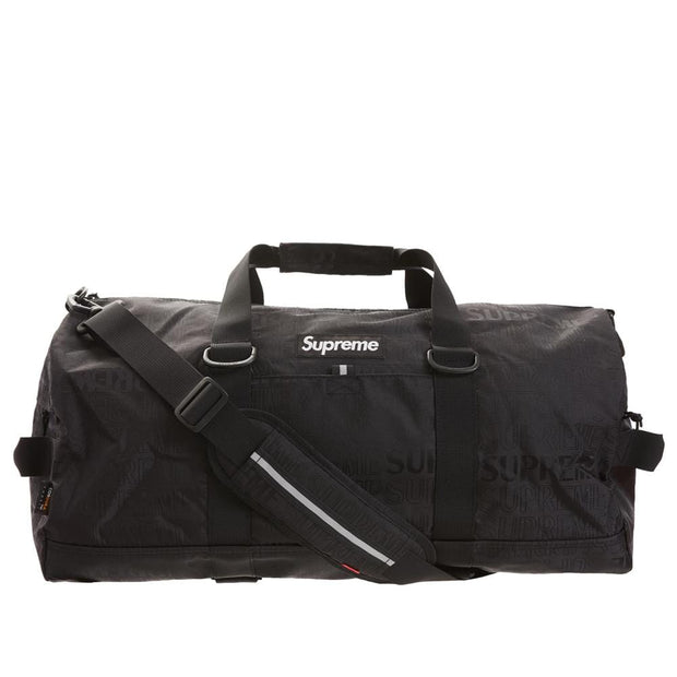 SUPREME SS19 DUFFLE BAG BLACK (NEW)