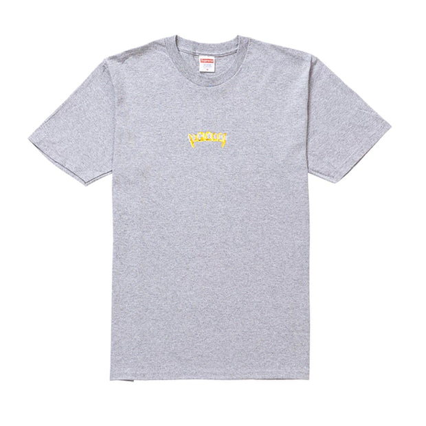 SUPREME SS19 FRONTS TEE GREY MEDIUM (NEW)